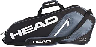 HEAD Core 3R Pro Tennis Racquet Bag – 3 Racket Tennis Equipment Duffle Bag