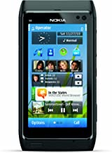 Nokia N8 Unlocked GSM Touchscreen Phone Featuring GPS with Voice Navigation and 12 MP Camera (Gray)