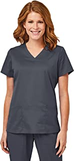Elements Women's V-Neck Scrub Top EL9105 | Four Way Stretch | Perfect for Medical, Dental, Veterinary and O.R.