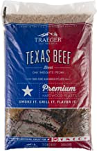 Traeger Grills PEL328 Texas Beef Blend 100% All-Natural Hardwood Pellets Grill, Smoke, Bake, Roast, Braise and BBQ, 20 lb. Bag