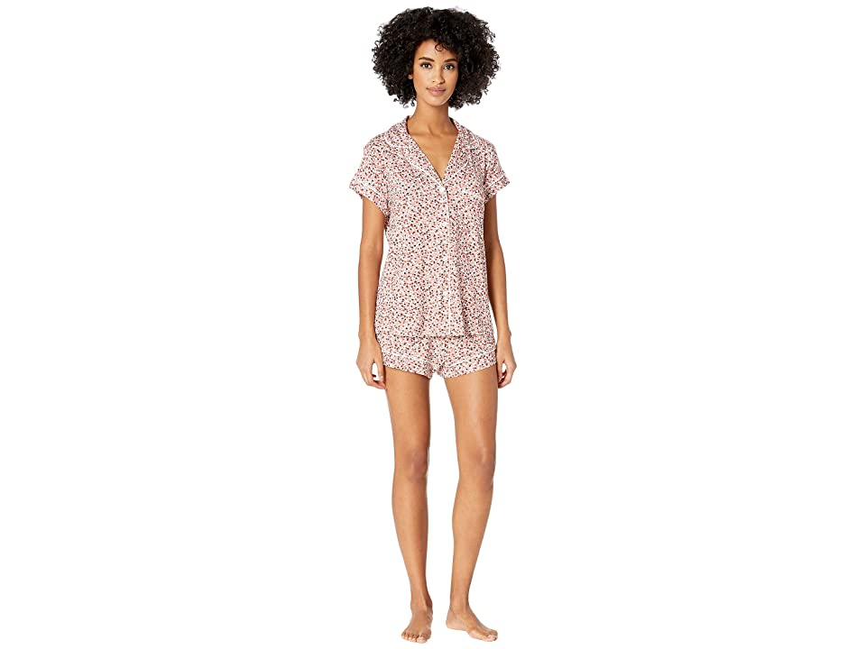 Eberjey Sleep Chic The Short Boxed Pajama Set (Holly/Ivory) Women