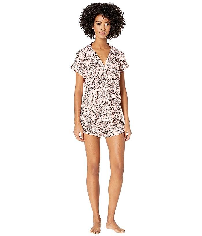 Eberjey Sleep Chic The Short Boxed Pajama Set (Holly/Ivory) Women