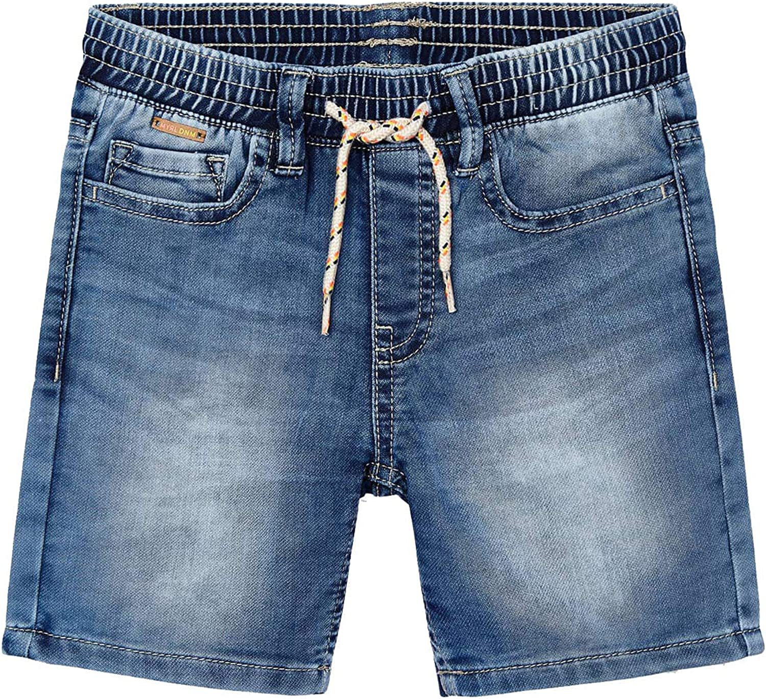 Mayoral - Soft Max 71% OFF Demin Jogger store 3227 Light Shorts for Boys