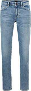 BOSS Hommes Maine BC-L-P Jean Regular Fit en Denim Stretch Bleu foncé
