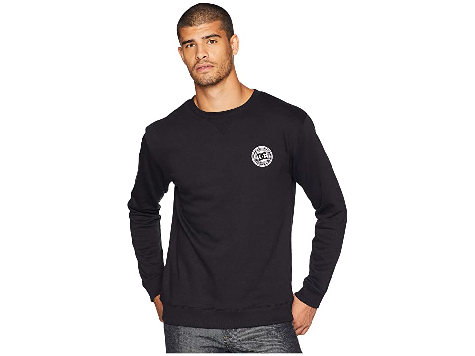 DC Rebel Crew Sweater (Black) Men