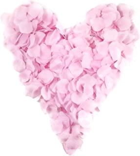 Charming Boxes 500 rosa Rosenblätter, rosafarben - Geburt, Hochzeit, Taufe, Valentinstag, Geburtstag, Streudeko, Basteln, pink, Babyrosa
