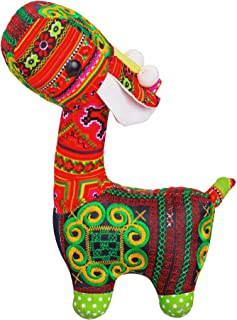 Handmade Stuffed Giraffe, Home Decor Toy for Kid