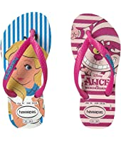 Havaianas Kids Slim Alice Flip Flops (Toddler/Little Kid/Big Kid)