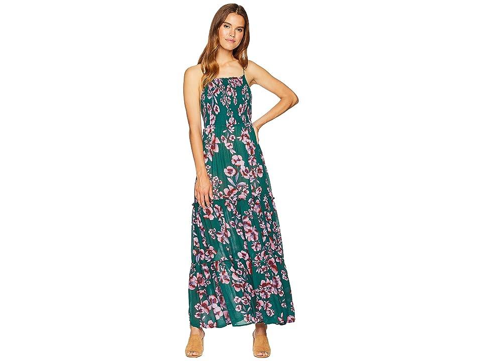 Free People Garden Party Maxi Dress (Turquoise) Women
