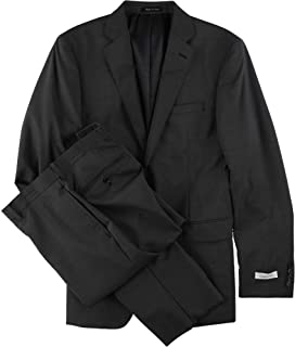 Mens Micro Pinstripe Two Button Formal Suit