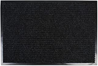 DII Durable Low Profile, Pet Friendly Indoor/Outdoor Doormat for Home or Commercial Use, 30x48, Charcoal Black Utility Mat
