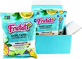 Frutati Hard Candy Variety Pack - Green Apple Mango, Pineapple Passionfruit, and Blueberry Yuzu - Non-GMO - Individually Wrapped - 4oz. Bag (Pack of 3)