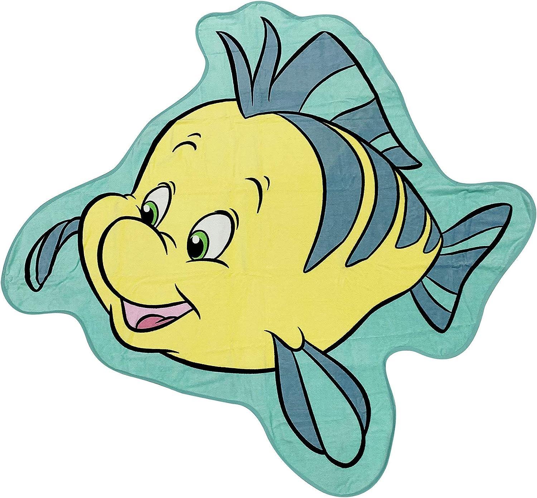 Disney Flounder Deluxe Beach Max 66% OFF Towel Little – The Mermaid 25% OFF