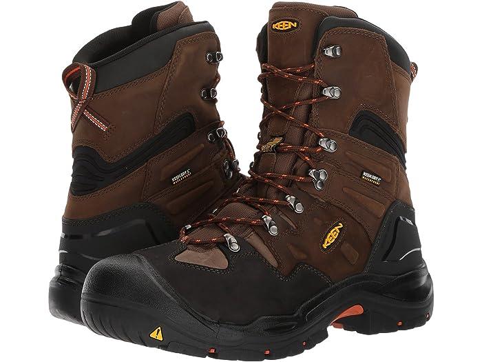 """Keen Utility 1017833 Men/'s Work Boots Coburg 8/"""" Waterproof Brown Steel Toe USA"""