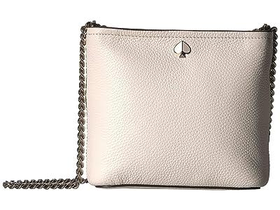 Kate Spade New York Polly Small Convertible Crossbody (Parchment) Cross Body Handbags