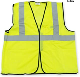 OccuNomix ANSI Class 2 Economy Mesh Safety Vest - ECO-GC in Yellow Color in Size S/M (4/Pack) - OSSG-CECO-GC-YEL-S/M