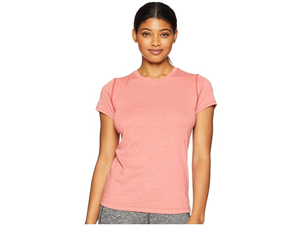 New Balance Heather Tech Tee (Flame Heather) Women