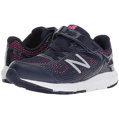 New Balance Kids KV519v1Y (Little Kid/Big Kid) (Pigment/Pink Glo) Girls Shoes