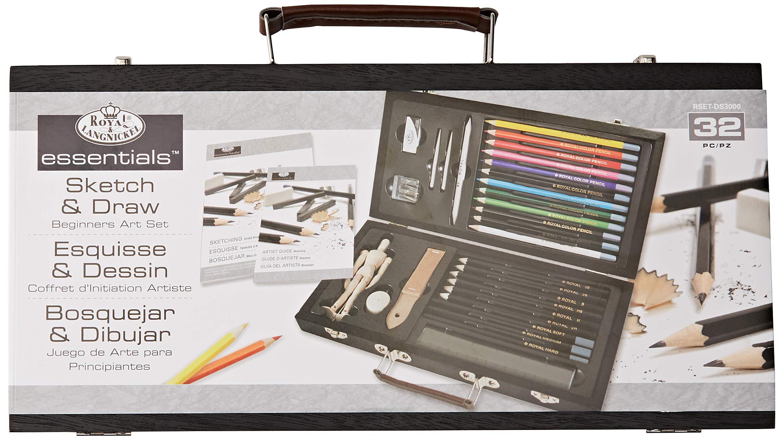 ROYAL BRUSH Essentials Sketching Multicolor