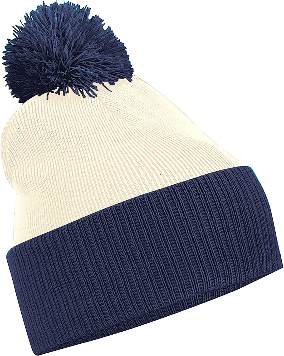 High quality Beechfield Snowstar Duo OFFicial mail order Two-Tone Hat Winter Beanie