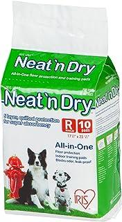 """IRIS USA, Neat 'n Dry Premium Pet Training Pads, Regular, 17.5"""""""" x 23.5"""""""", 10 Count"""", white (301585)"""