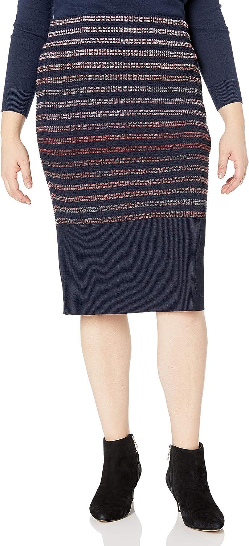 RACHEL Rachel お得なキャンペーンを実施中 Roy Women's ご注文で当日配送 Plus Stripe Size Skirt Dyed Spac