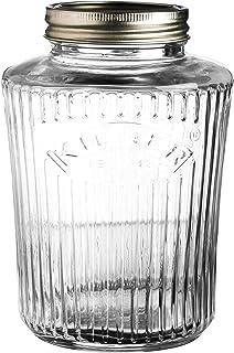 Kilner 25.707 Vintage Screw Top Glass Preserve Jar, Clear, 0.5 Litre