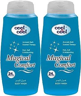 Cool & Cool Magical Comfort Body Wash, 2 x 500ml