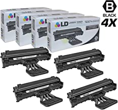LD Compatible Toner Cartridge Replacement for Dell 310-6640 J9833 (Black, 4-Pack)