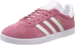 adidas, Gazelle Shoes, Unisex Shoes, Trace Maroon/White/White, 4.5 US Men / 5.5 US Women