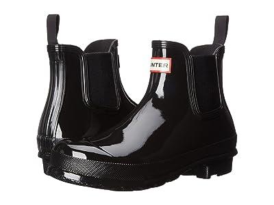 Hunter Original Chelsea Boots Gloss (Black) Women