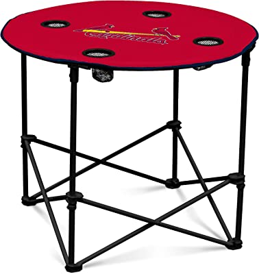 MLB St Louis Cardinals Round Tailgating Table