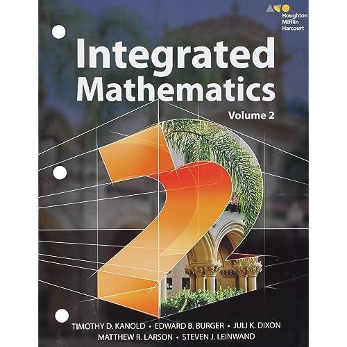 Integrated Math: Amazon com