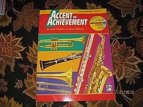 Accent on Achievement, Eb Alto Saxophone Book 2 (Comprehensive Band Method)