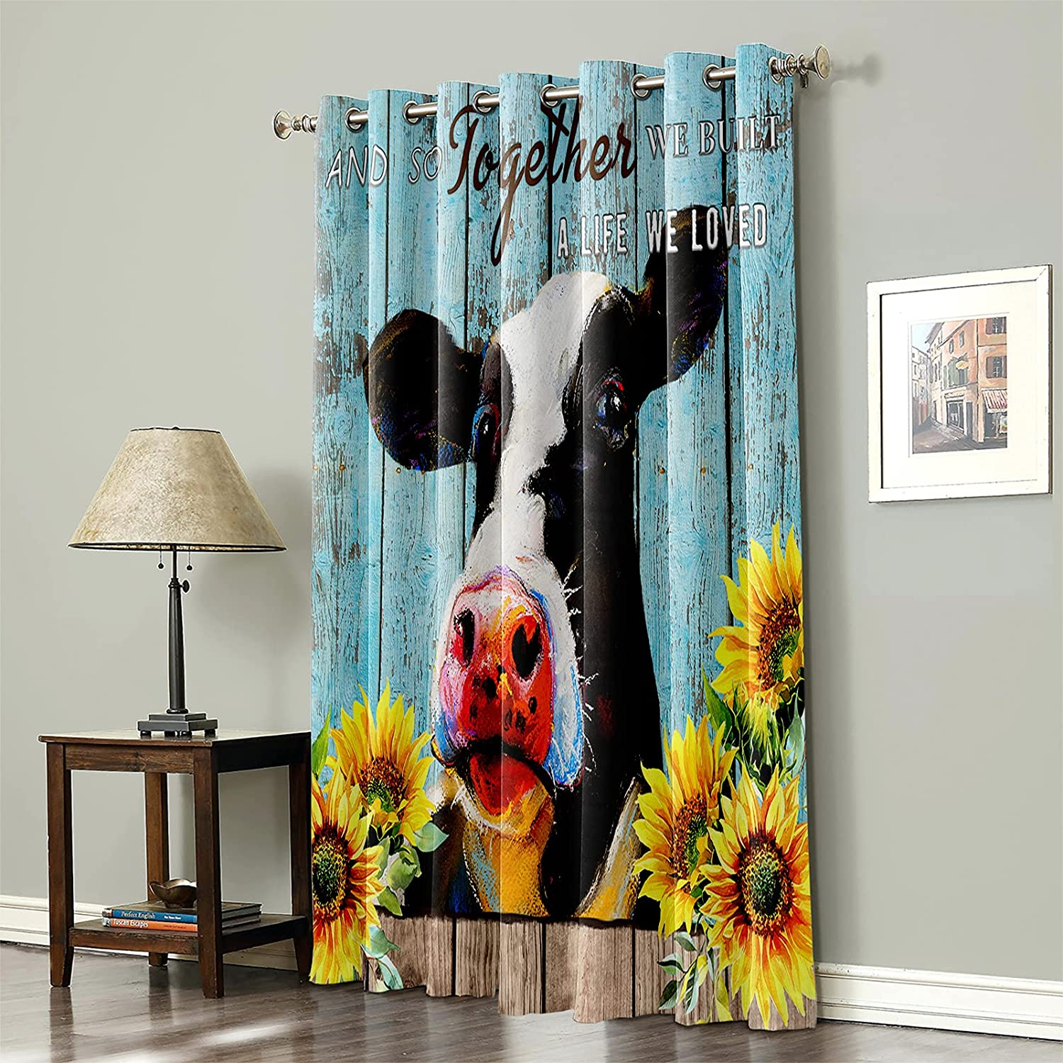 Thermal Insulated Blackout Curtain for Animal Bed Farm Cow Room- trend rank Super popular specialty store