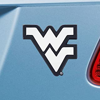 FANMATS  14944  NCAA West Virginia University Mountaineers Chrome Team Emblem