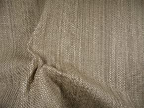 Embroidered Stripe Designer Upholstery Drapery Fabric Robert Allen St by The Yard Petersburg in Double Cream
