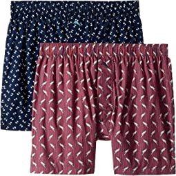 2-Pack Island Washed Cotton Woven Boxer Set