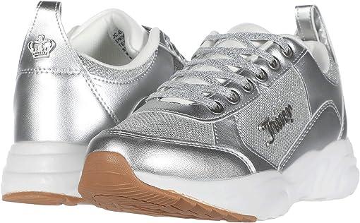 Silver Glitter Mesh
