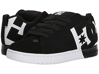 DC Court Graffik SQ (Black/White/Black 2) Men