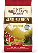 Whole Earth Farms Grain Free, Natural Dry Dog Food