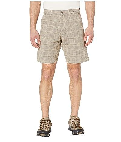 Mountain Khakis Boardwalk Plaid Short (Stone) Men