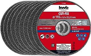 kwb 49711944 10 Trennscheiben dünn 115x1,0 mm Angle Grinder Accessories