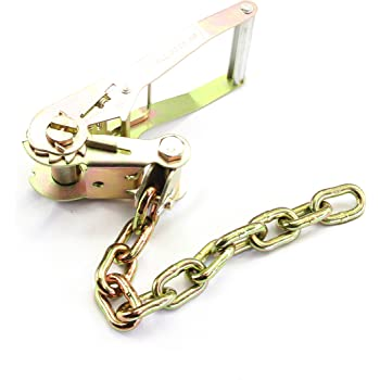 4 Width 2.5 Height 2 Wide B//A Products 38-100-R Ratchet with Chain 8.5 Length 2 Wide B//A Products Co.