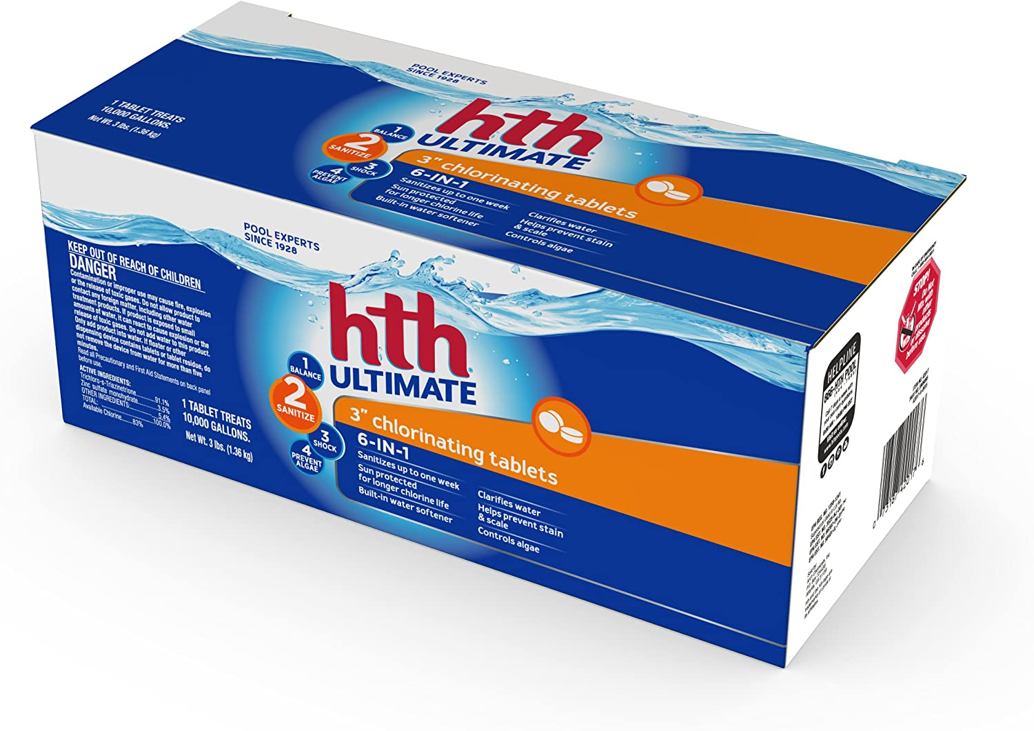 Max 87% OFF HTH 42017 Ultimate 3-inch Chlorinating Pool Selling Chl Tablets Swimming