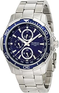 Armitron Sport Men's 42mm Multifunction Blue Dial Watch