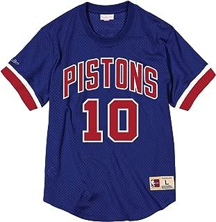 Dennis Rodman Detroit Pistons NBA Men's Mesh Jersey Shirt