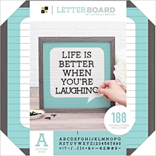 DCWVE Die Cuts with A View Board Letterboard-12 x 12-Word Bubble (189 pcs) 609085, Multi