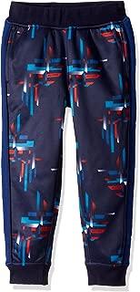 Tommy Hilfiger Boys' Adaptive Track Pants with Elastic Waist, Peacoat-PT