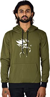 BAGHADBILLO Naruto Printed Casual Regular fit Unisex Warm Pullover Cotton Hoodie, Sweatshirt